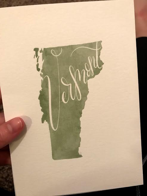 Vermont Print